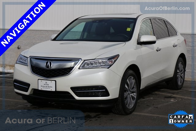 Certified Pre-Owned 2016 Acura MDX SH-AWD with Technology and AcuraWatch Plus Packages
