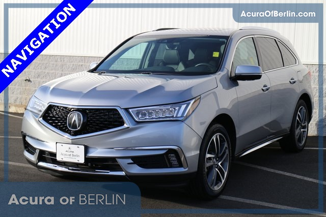 Certified Pre Owned 2017 Acura Mdx Sh Awd With Advance Package 4d Sport Utility In Berlin 17402l Of