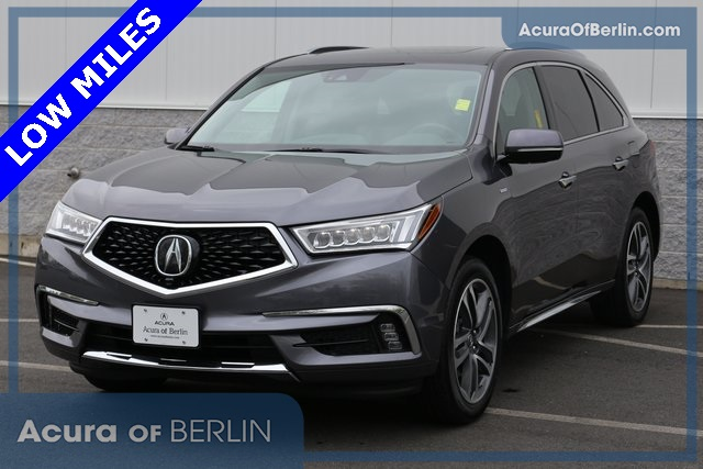 Certified Pre Owned 2017 Acura Mdx Sport Hybrid Sh Awd With Advance
