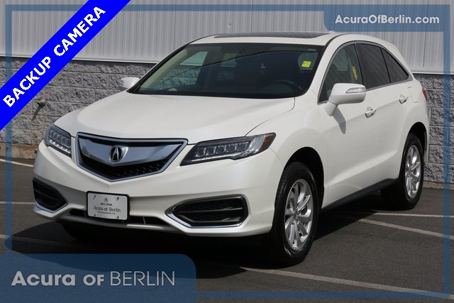 Certified Pre Owned 2017 Acura Rdx Awd 4d Sport Utility In Berlin P3475 Of