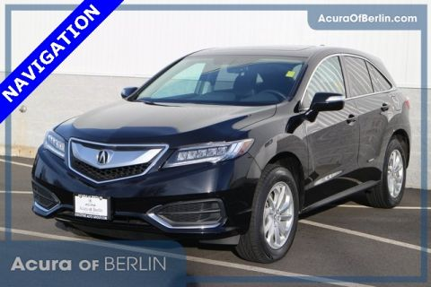 Certified Pre-Owned 2016 Acura RDX AWD with Technology Package